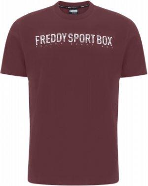 Футболка мужская , размер 46-48 Freddy. Цвет: коричневый