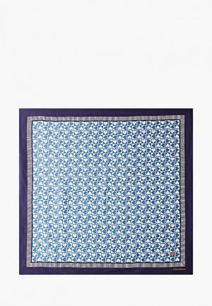 Платок Coccinelle. Цвет: синий