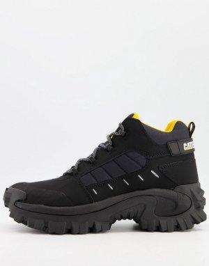 Черные ботинки CAT Resistor-Черный цвет Footwear