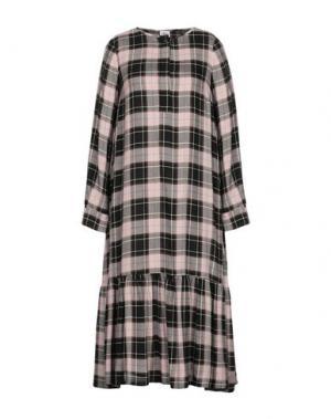Платье длиной 3/4 ATTIC AND BARN. Цвет: светло-коричневый