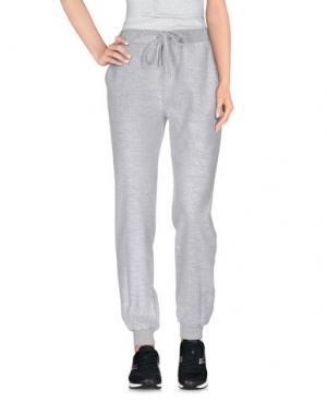 Повседневные брюки GINGER+SOUL. Цвет: светло-серый