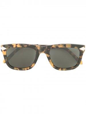 Солнцезащитные очки Voltaire Karen Walker. Цвет: желтый