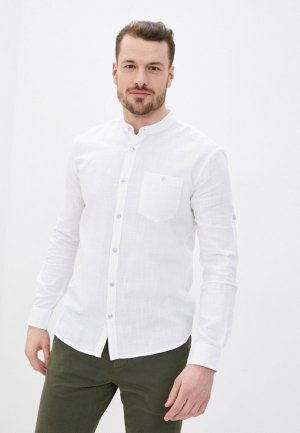Рубашка Al Franco. Цвет: белый