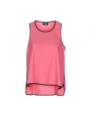 Майка DIRK BIKKEMBERGS SPORT COUTURE. Цвет: розовый