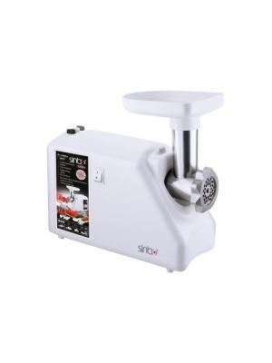 Мясорубка Sinbo SHB 3108 2000Вт белый. Цвет: белый