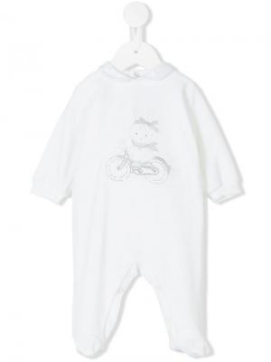 Пижама Bunny Loredana. Цвет: белый