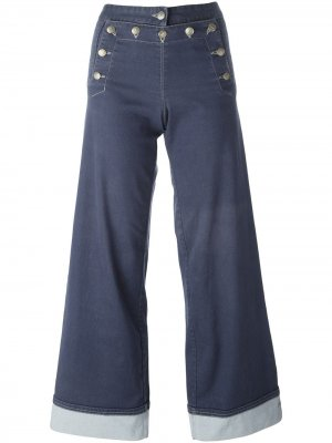 Расклешенные джинсы Jean Paul Gaultier Pre-Owned. Цвет: синий