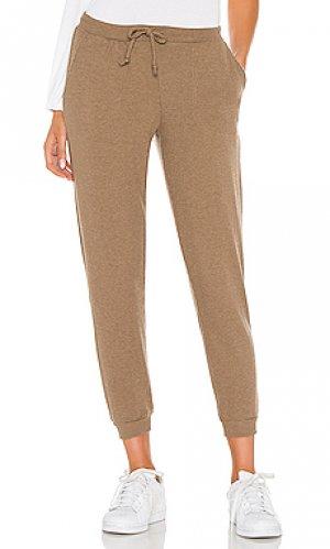 Спортивные брюки love Chaser. Цвет: серо-коричневый