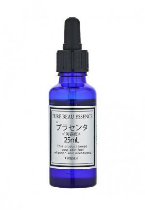 Сыворотка для лица Japan Gals с плацентой Pure beau essence 25 мл. Цвет: белый