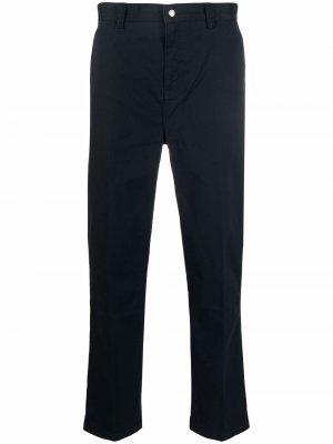 Elasticated waist chinos FRAME. Цвет: синий
