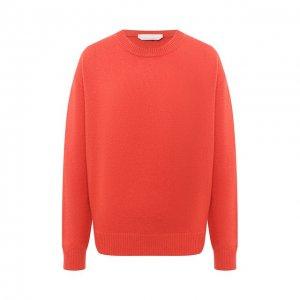 Кашемировый пуловер BOSS. Цвет: розовый