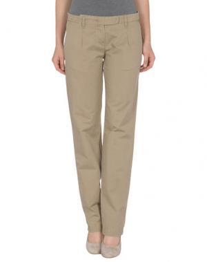Повседневные брюки NOVEMB3R. Цвет: бежевый