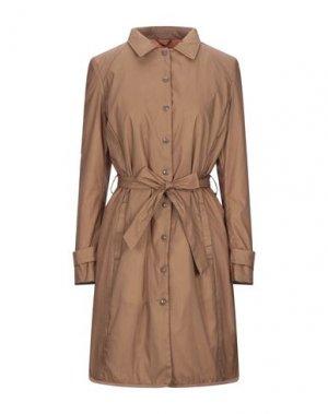 Легкое пальто BOMBOOGIE. Цвет: коричневый