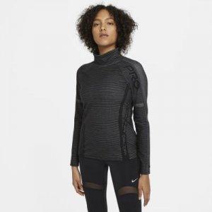 Женская футболка с длинным рукавом Pro HyperWarm Nike