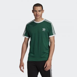 Футболка 3-Stripes Originals adidas. Цвет: зеленый