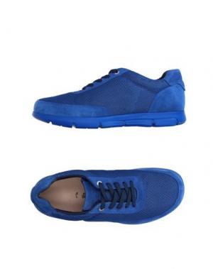 Низкие кеды и кроссовки BIRKENSTOCK. Цвет: ярко-синий