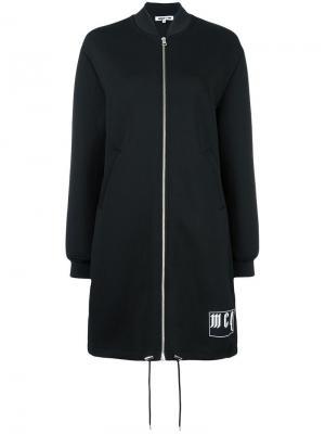 Куртка-бомбер на молнии McQ Alexander McQueen. Цвет: чёрный