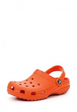 Сабо Crocs Classic Clog K. Цвет: оранжевый