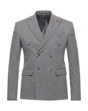 Пиджак EREDI DEL DUCA. Цвет: светло-серый