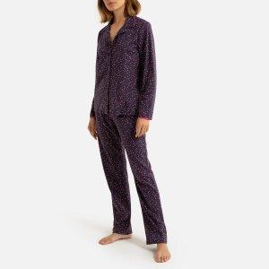 Пижама La Redoute. Цвет: фиолетовый