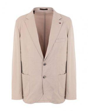 Пиджак PAOLO FIORILLO. Цвет: песочный