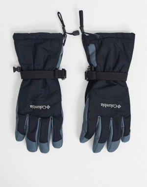 Черные перчатки Whirlibird-Черный Columbia