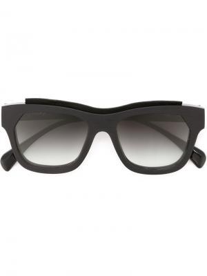 Солнцезащитные очки Marsèll. Цвет: черный