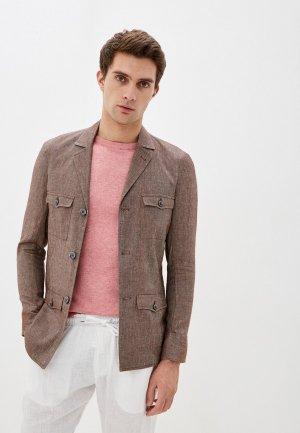 Пиджак Primo Emporio. Цвет: коричневый