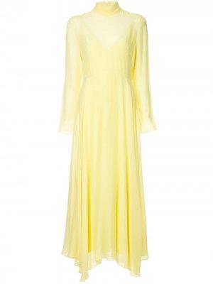 Платье миди Essie CAMILLA AND MARC. Цвет: желтый