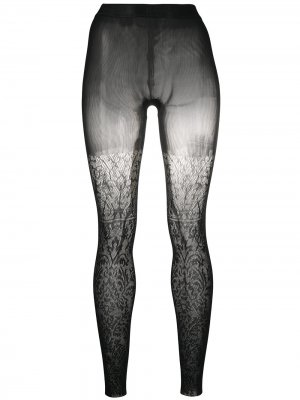 Alexa patterned tights Wolford. Цвет: черный