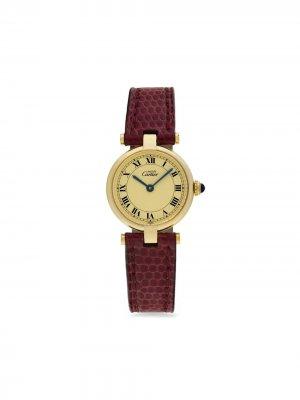 Наручные часы Must pre-owned 24 мм 1995-го года Cartier. Цвет: нейтральные цвета