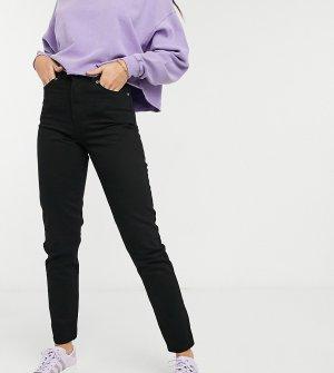 Черные джинсы в винтажном стиле с завышенной талией -Черный цвет Dr Denim Tall