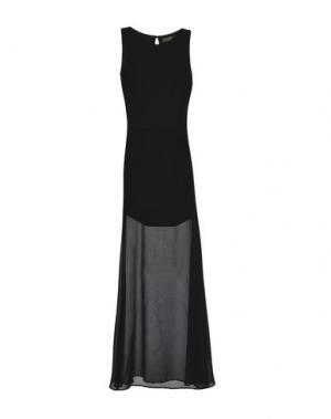 Длинное платье SPACE SIMONA CORSELLINI. Цвет: черный