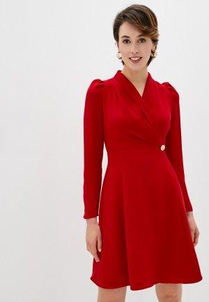 Платье Kira Plastinina. Цвет: красный