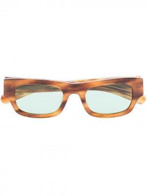 Солнцезащитные очки Frankie FLATLIST. Цвет: коричневый