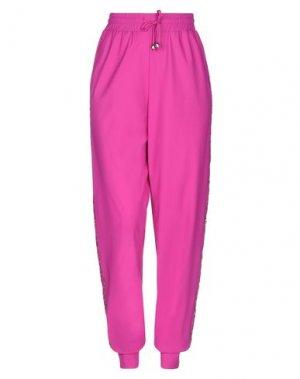 Повседневные брюки ANGELO MARANI. Цвет: розовато-лиловый