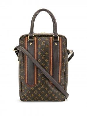 Портфель 2007-го года Louis Vuitton. Цвет: коричневый