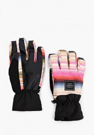 Перчатки горнолыжные Billabong. Цвет: разноцветный