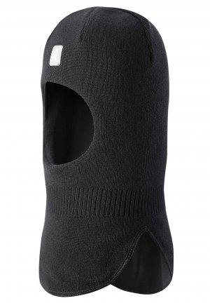 Шапка-шлем Starrie Черная Reima. Цвет: черный
