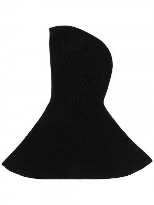 Балаклава в рубчик AMI AMALIA. Цвет: черный