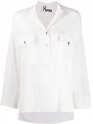 Блузка свободного кроя 8pm