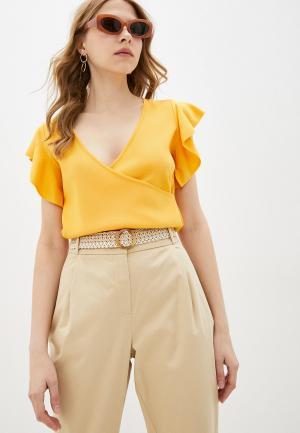 Пуловер adL. Цвет: желтый