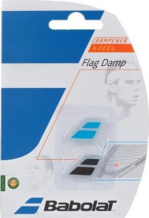 Виброгаситель Flag Damp x 2 Babolat. Цвет: голубой