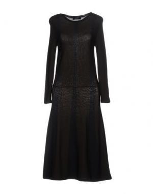 Платье до колена ALPHA STUDIO. Цвет: темно-коричневый