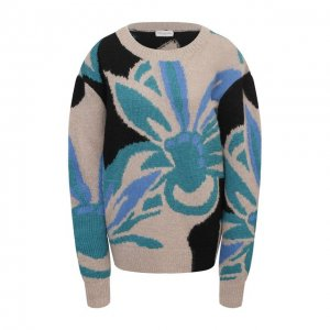 Шерстяной свитер Dries Van Noten. Цвет: бежевый