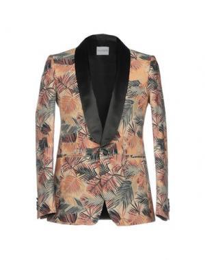 Пиджак ALL APOLOGIES. Цвет: бежевый