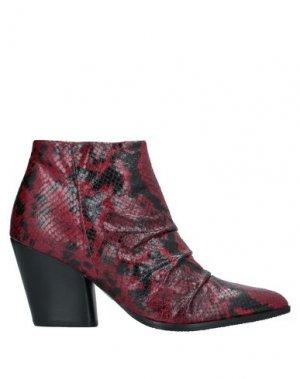 Полусапоги и высокие ботинки CARMENS. Цвет: красно-коричневый