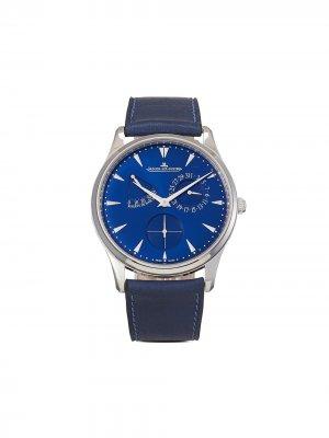 Наручные часы Master Ultra Thin Réserve de Marche pre-owned 39 мм 2020-го года Jaeger-LeCoultre. Цвет: синий