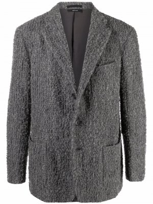 Пиджак 1990-х годов Issey Miyake Pre-Owned. Цвет: серый