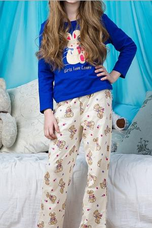 Пижама Lowry. Цвет: бежевый
